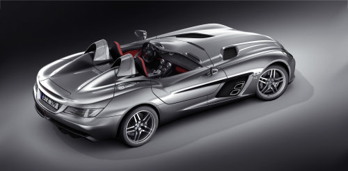 Uncompromisingly spectacular caR: The all-new SLR Stirling Moss (Picture: Mercedes-Benz)