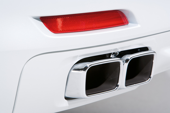 The new BMW 7 Series 12-Cylinder, Tail pipe (Image: BMW Group)