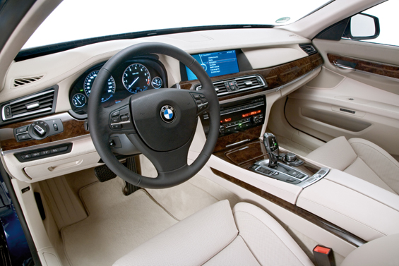 The new BMW 7 Series 12-Cylinder, Interieur (Image: BMW Group)