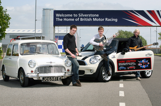 Twisted Wheel set to star at MINI United 23-24 May 2009, Silverstone Circuit (Image: BMW Group)