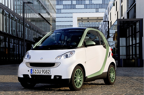 Trendsetter for urban mobility: smart fortwo electric drive (Image: smart)