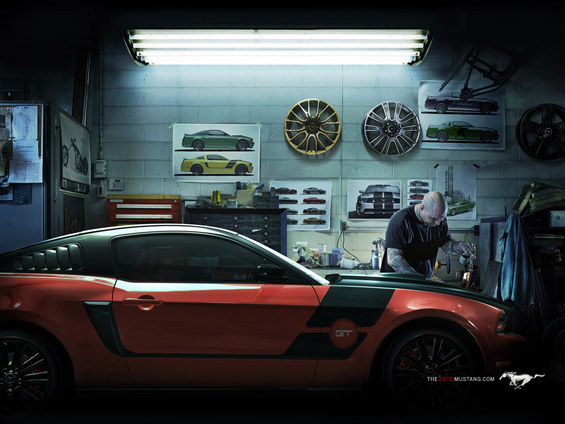 Create your Mustang 2010 online - and then make him real (Image: Ford)