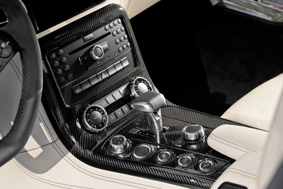 Many, many knobs to play with... (Image: Daimler)