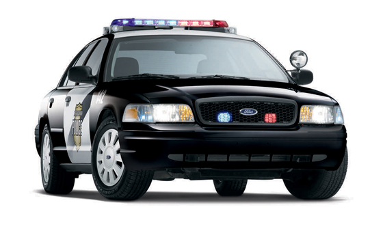 2008 Ford Crown Victoria Flexible Fuel Police Vehicle (Image: Ford)
