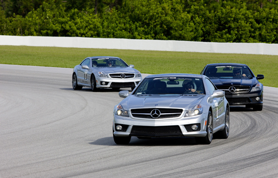 Expanding activities: the AMG Driving Academy (Image: Daimler)