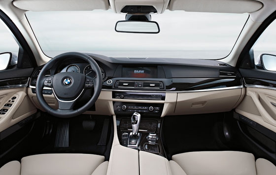 BMW 5 series interieur (Photo: BMW)