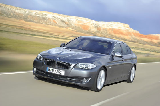 The all new BMW 5 Series will be aviable soon (Photo: BMW)