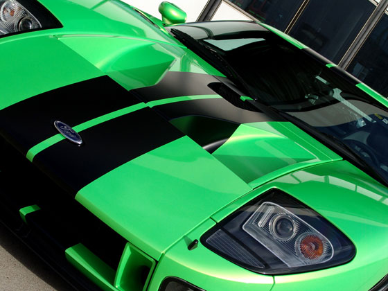 Green is the color of speed, not red as is was before (Image: geigercars)
