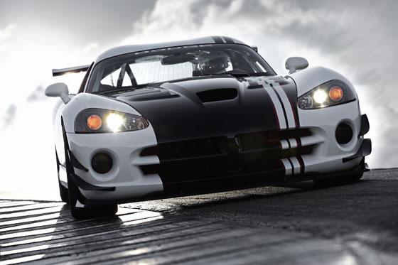 Simply brutal: 2010 Dodge Viper SRT10 ACR-X (Image: Dodge)