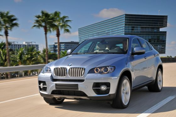 New BMW Active Hybrid X6 is trendy, but expensive. (Image: BMW)