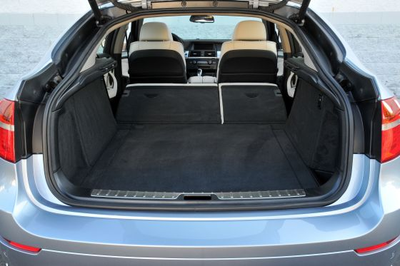 Enough space for most drivers: BMW AQctive Hybrid X6 (Image: BMW)