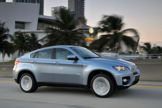 BMW Active Hybrid X6 (Image: BMW)