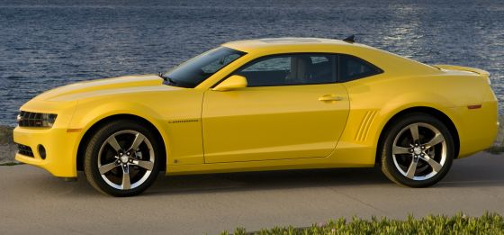 2010 Chevrolet Camaro LT with an RS Appearance Package (Image: GM)