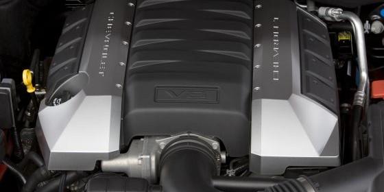 2010 Chevrolet Camaro: V8 Engine (Image: GM)