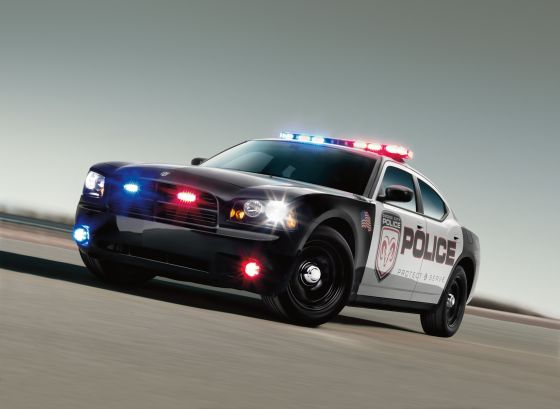 The Dodge Charger in police-trim features a lot of helping additions (Image: Dodge)