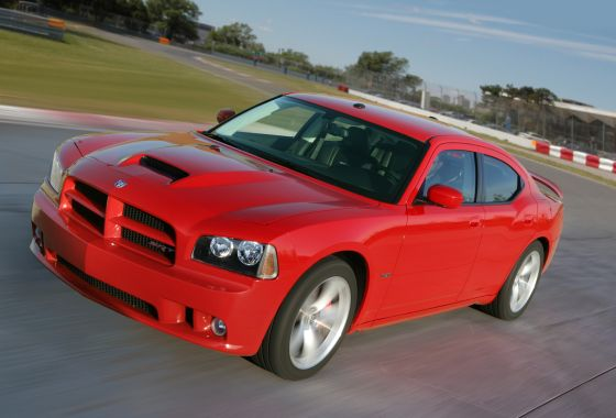 Dodge Charger SRT8 2010 Model (Image: Dodge)