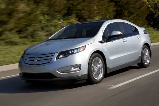 New Generation: The Volt is the first electric car of Chevrolet (Image: GM)
