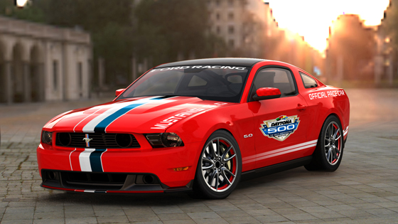 2011 Mustang GT – Official Pace Car of Daytona 500 – up for grabs