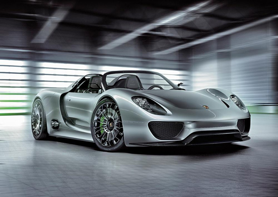 Porsche presents Super-Sports Car in Geneva: Porsche 918 Spyder Concept Car