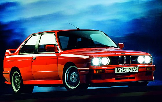 The story of an exception: the BMW M3 is 25.